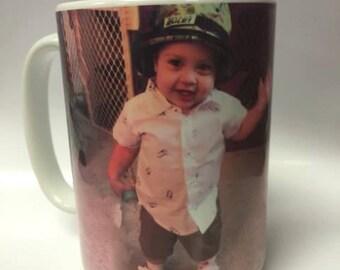 Custom Picture Mug 15oz