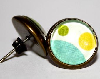 Spotted earrings