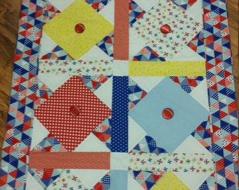 Patriotic Table Topper or Wall Hanging