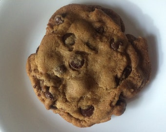 The absolute best chocolate chip cookie