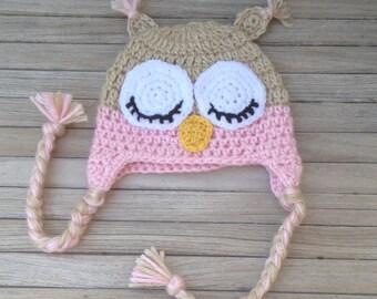 Drowsy Owl Hat