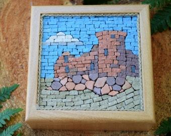 Mosaic Castle Box