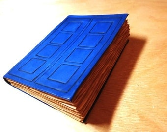 Doctor Who River Song diary (journal) - leather notebook