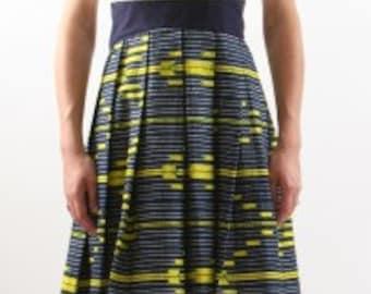 wax and linen dress