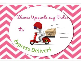 Express Delivery Upgrade from AshleyLairdDesigns