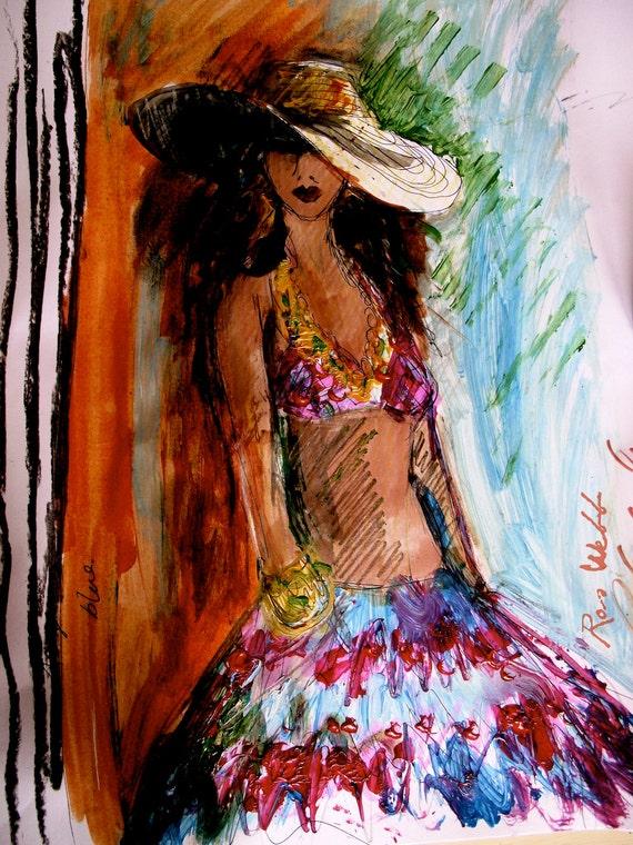 "Fashion Illustration, Wall Art, Art Print, Printable Download, PDF, 8.5"" x 11"", Printable Art, Fashion Print"