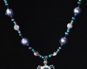 Sea Turtle Beaded Necklace