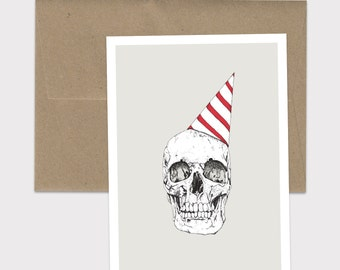 One Year Closer - 5x7 Birthday Card with Envelope