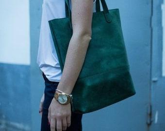 Leather tote Bag, Leather handbag women, Women Leather bag , leather  shoulder bag,  Leather laptop bag, Women handbag