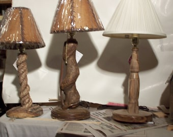 Bittersweet table lamps
