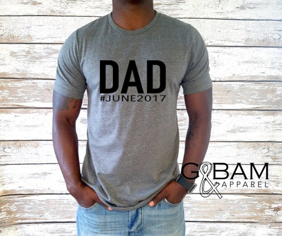 Dad T-shirt / Dad Shirt / New Dad Gift / We're pregnant shirt
