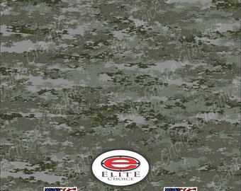 "Digital Green 15""x52"" or 24""x52"" Truck/Pattern Print Tree Real Camouflage Sticker Roll or Sheet"