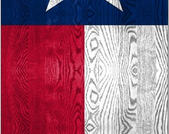 Texas Flag Weathered Wood Cornhole Wrap Bag Toss Decal Baggo Skin Sticker Wraps