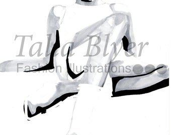 Mens Fashion Illustration