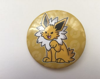Pokemon Jolteon Eeveelution Button