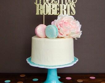 Cake topper - personalized wedding cake topper, wedding cake topper, wedding decorations, cake topper wedding, wedding