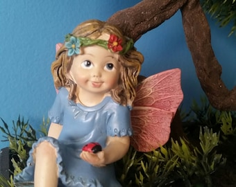 Fairy Holding Lady Bug