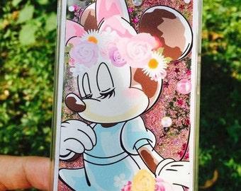 Disney glitter iphone 6/6plus case