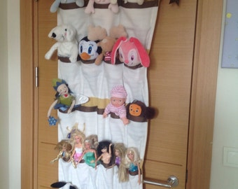 Handmade toy and barbie storage