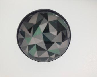 Scandinavian modern graphic Adjustable ring