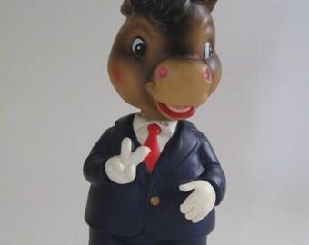Democrat Donkey Nodder Bank Bobblehead Lego