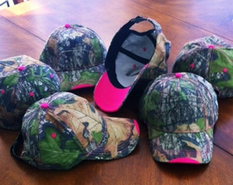 American Beauties  Ladies Camo  Caps