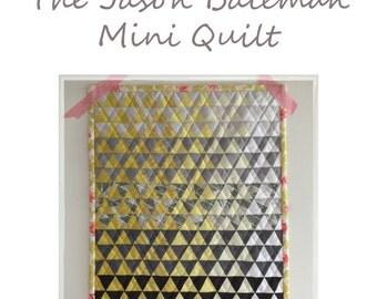 The Jason Bateman Mini Quilt Pattern