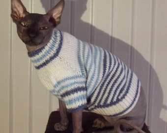 Sweater for a Sphynx, Sweater for a Cat, Cat Clothing, Sweater for a Dog, Dog Clothing