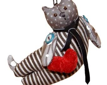 Flying Cat Plush Toy | Customized Stuffed Animal