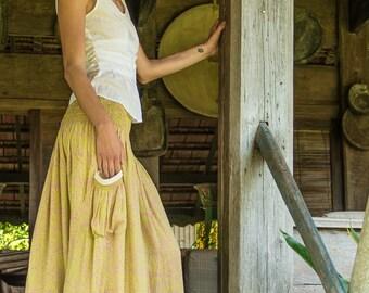Edi Skirt-Dress, Skirt Dress Combination, Versatile Skirt, Boho Skirt, 104-106