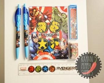 Avengers - 6 piece stationary set