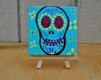 Mint Sugar Skull