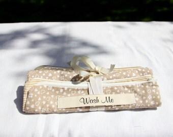 Travel Lover Travel Lingerie Bag, Travel Underwear Bag, Travel Laundry Bag, Gifts for Her, Wash Bag, Wear Me Wash Me Bag