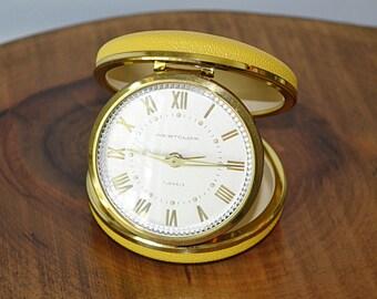 Westclox 7 Jewels Travel Alarm Clock, Vintage Alarm Clock, Made In Germany