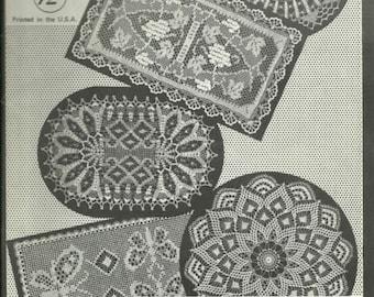 Elizabeth Hiddleson Crochet Patterns Crochet Originals Volume 12 1964 Doilies Home Decor