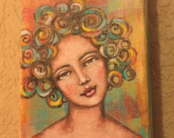 Big Curly Girl #2