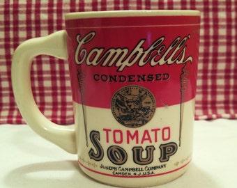 Vintage Campbell's Tomato Soup Mug