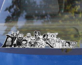 UNDERTALE - Family Car Sticker