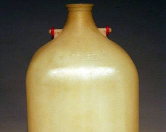 """Plastic Returnable One Gallon Milk Jug """"Please Return"""""""