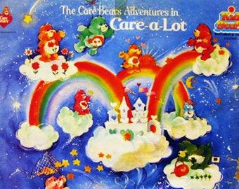 """The Care Bears Adventures in """"Care-a-lot""""; KidStuff Records, 1983."""