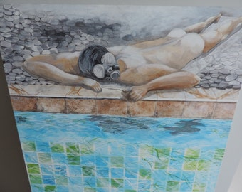 Swimming pool series - Pollution
