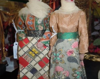Dolls of the world: traditional Arabic costume Couple vintage anni ' 50