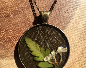Lilac & Fern Necklace