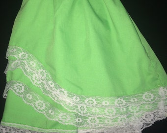 Green lace toddler dress (2T)