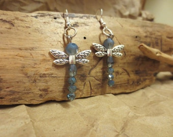 Sweet Dragonfly Earings by Jenny DEEsigns (Moose Ranch Experience)