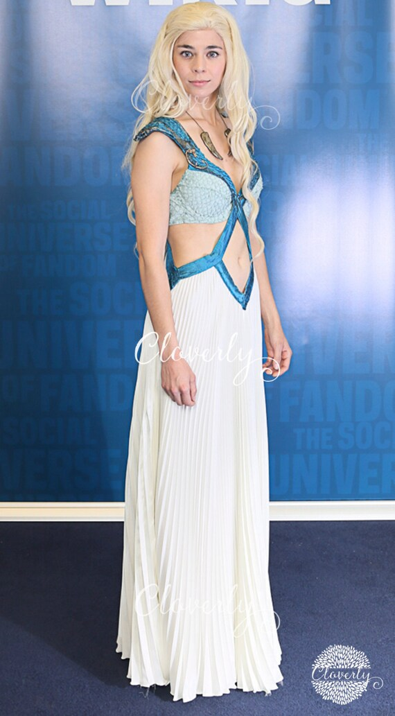 daenerys targaryen blue white - photo #26