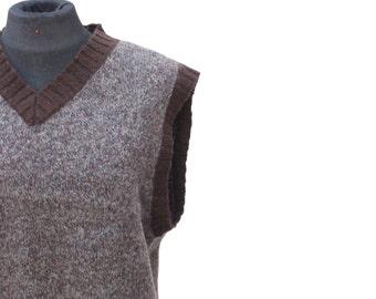 Vintage never-been-worn shetland wool vest