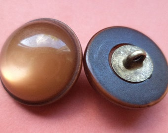 10 buttons Brown 18mm (1685) button jacket buttons