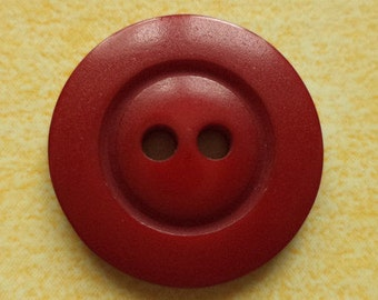 10 dark red buttons 18mm (5925) red button