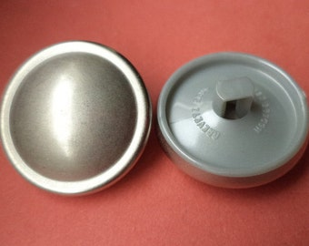 10 buttons silver 23mm (5624) button